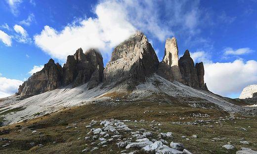 In den drei Zinnen in Südtirol ereignete sich am Samstag ein tödlicher Kletterunfall