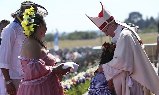 Chile: Papst trifft Mapuche