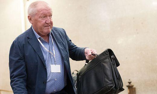 Ex-Buwog-Aufsichtsratspräsident Ernst Karl Plech: Laut Gutachter wieder verhandlungsfähig