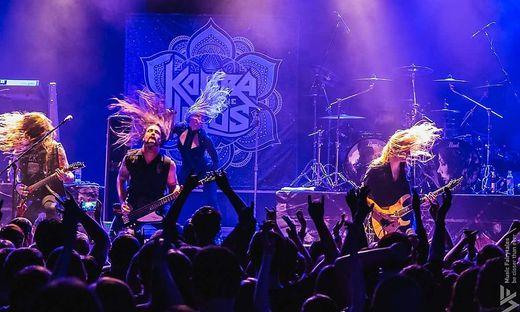Die kanadische Band Kobra and the Lotus