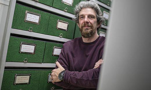 Elmar Lenhart Kaerntner Literaturarchiv Musilhaus Klagenfurt Maerz 2021