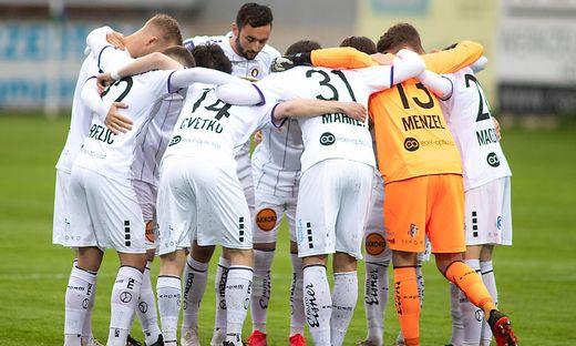 Die Austria hat ein gemeinsames Ziel: Aufstieg in die Fußball-Bundesliga