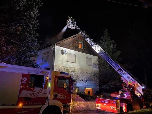 Abendlicher Einsatz für die Feuerwehren