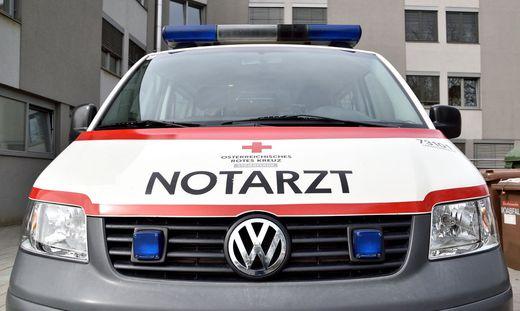 Das Rote Kreuz brachte die geschwächte Frau ins LKH Deutschlandsberg