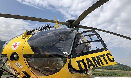 Hubschraubereinsatz bei Fußballmatch