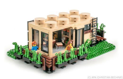 60 Jahre Lego Wiener Designte Lego Haus Eight Studs
