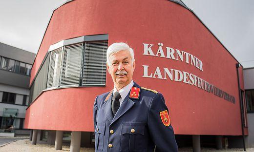 """""""Ich bleibe Feuerwehrmann, solange man mich braucht"""", sagt Hermann Maier"""