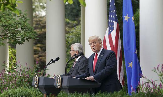 Donald Trump, Jean-Claude Juncker