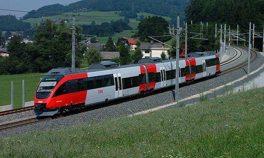 Im Nahverkehr setzt die ÖBB unter anderem den Talent von Bombardier ein
