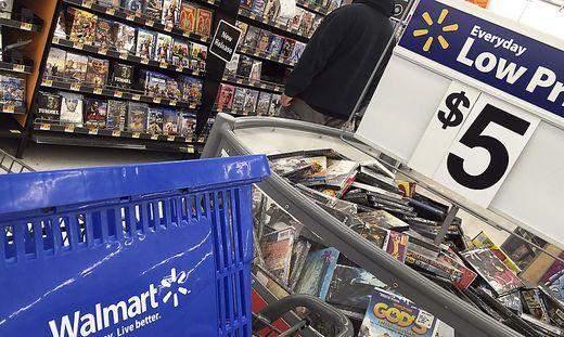 Filiale der des weltgrößten Händlers Walmart
