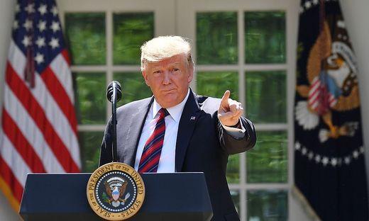 US-Präsident Donald Trump will nicht mit China und der EU zugleich im Clinch liegen