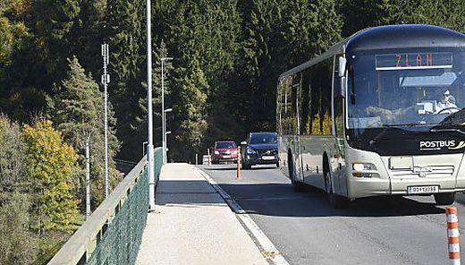 Seit Jahren gibt es auf der Draubrücke in Feistritz eine Ampelregelung