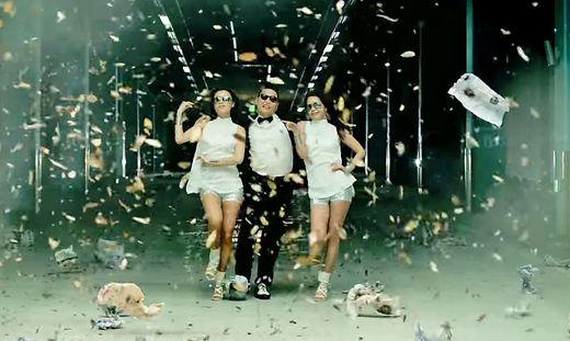 """Das erste Video, das über die Milliarden-Aufrufe-Schwelle kam: """"Gangnam Style"""""""