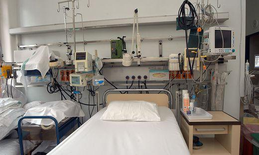 38 Intensivbetten stehen in Kärnten zur Verfügung, aktuell sind zwei belegt