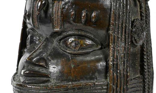 Eine der Benin-Bronzen: Diese wird von der Universität Aberdee in Schottland zurückgegeben