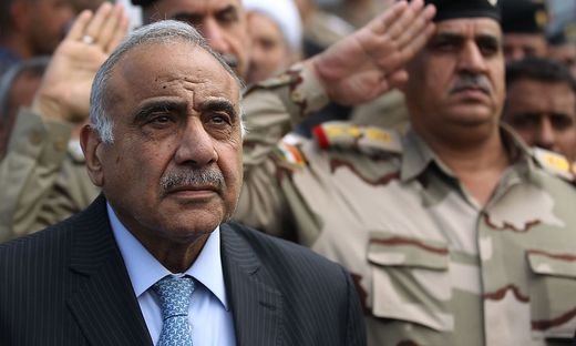FILES-IRAQ-POLITICS-ABDEL MAHDI