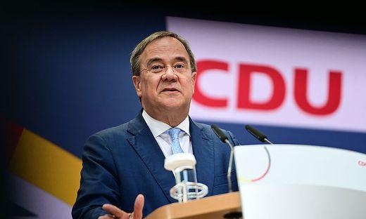Armin Laschet beansprucht als Zweiter das Kanzleramt
