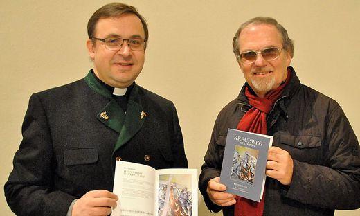 Dechant Anton Neger und Werner Uhl
