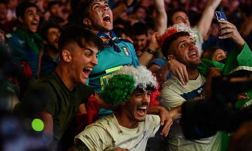 Die Tifosi freuten sich mit ihrer Mannschaft
