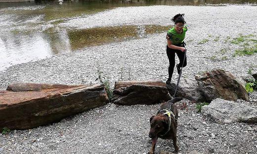 Ein gemeinsamer Lauf macht Hund und Herrchen Spaß