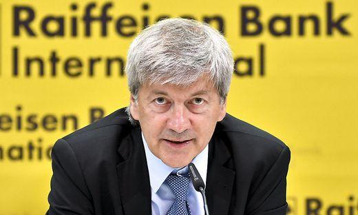 Bankchef Johann Strobl
