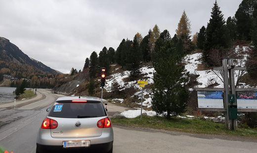 In diesem Bereich soll – Genehmigungen vorausgesetzt – die Tiefgarage in den Felsen gebaut werden