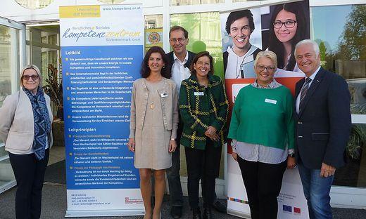Irene Sacherer, Ingrid Gürtl, Wolfgang Klemencic, Angelika Stanzer, Hermine Mittendrein, Helmut Leitenberger