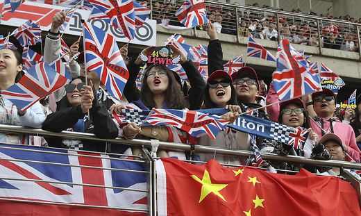 China Formel 1 Fans