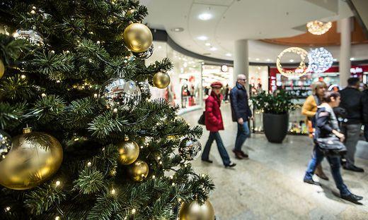 Viele nutzen den 8. Dezember für den Weihnachtseinkauf