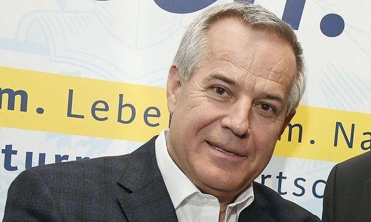 Siegfried Wolf am Donnerstag in Millstatt