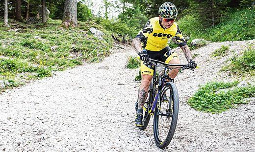Franz Preihs nimmt sich Mitte August die Mürztaler Mountainbikestrecken vor
