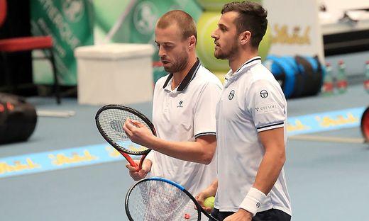 Oliver Marach (links) mit Doppel-Partner Pavic