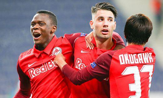 SOCCER - UEFA CL, RBS vs Tel Aviv