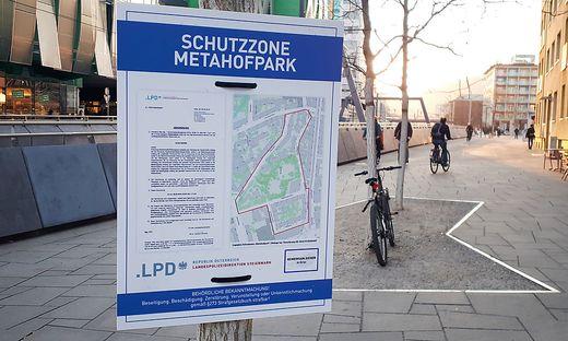 Schutzzone Metahofpark
