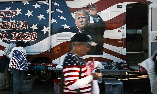 Trump Rally Held In New Jersey Stadium