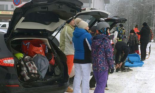 CORONA: SKIGEBIETE - SITUATION AM SEMMERING