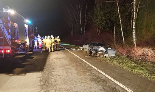 Fünf Verletzte bei Verkehrsunfall in Obertrum