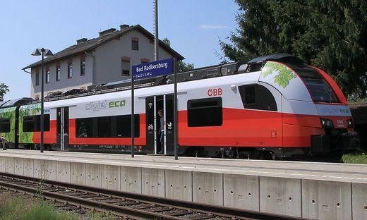 ÖBB bringt Akku-Zug in Fahrgastbetrieb