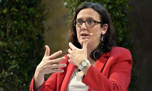 EU-Handelskommissarin Cecilia Malmström