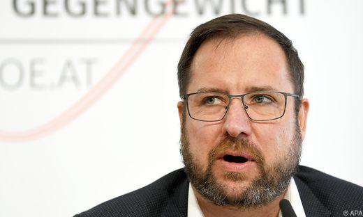 U-Ausschuss-Fraktionsführer Christian Hafenecker