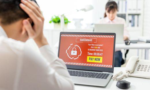 Angriffe mit Verschlüsselungssoftware sind groß in Mode