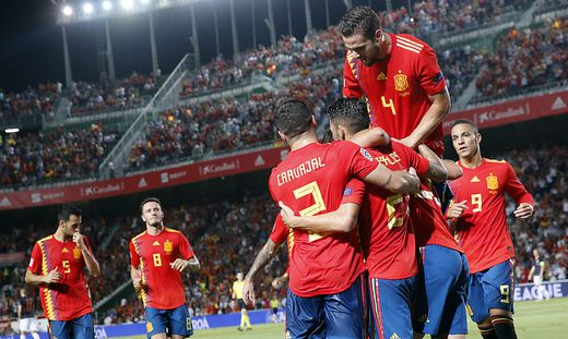 Spanien Kroatien Nations League