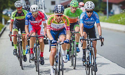 Am Donnerstag sind die Radrennfahrer in der Region zu bestaunen