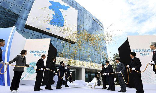 Das Büro soll von Nordkorea gesprengt worden sein