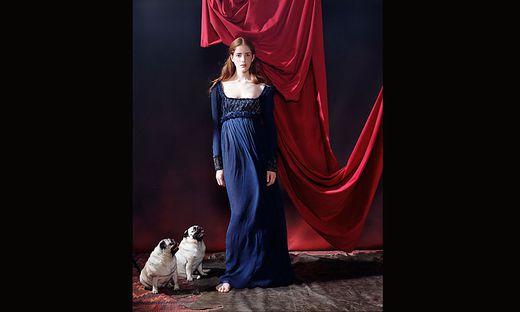 Reminiszenz an die Renaissance: o.T. (Madonna mit Hunden, Renaissance), New York, 2005/2013