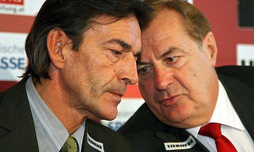 Auch die Alt-Präsidenten Stephan Sticher und Rudi Roth warten auf das neue GAK-Gutachten.