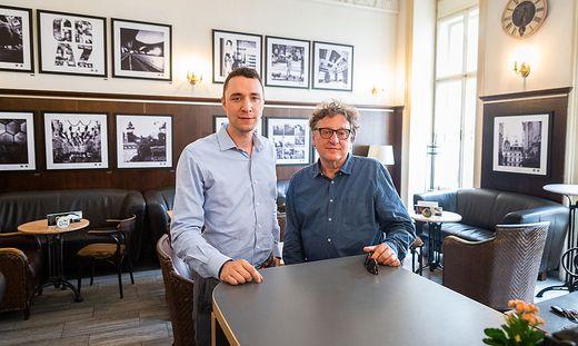Simon und Rudi Lackner