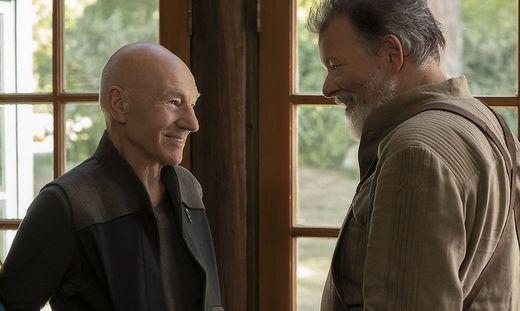 Sie waren ein gutes Team: Jean-Luc Picard trifft in der ersten Staffel wieder auf William T. Riker