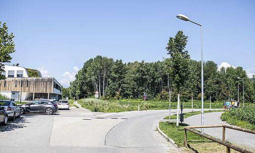 Buszufahrt in den Lakeside Park wird an der Ecke Kranzmayerstraße/ Nautilusweg sein