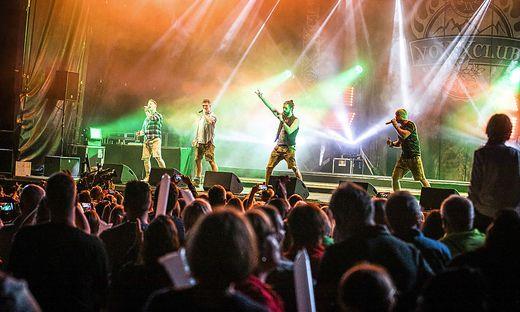 Voxxclub gaben Vollgas auf der Bühne